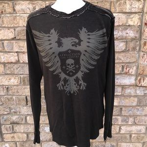 Men's Affliction Long Sleeve Tee